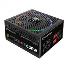 Fuente de Poder Thermaltake Toughpower Grand RGB, 24-pin ATX, 140mm, 650W - Envío Gratuito