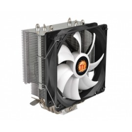 Disipador CPU Thermaltake Contact Silent 12, 120mm, 400-1500RPM, Gris - Envío Gratuito