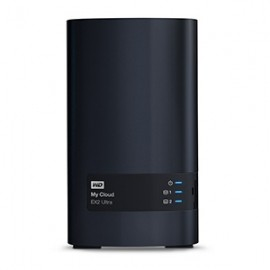 Western Digital My Cloud EX2 Ultra NAS de 2 Bahías Hot Swap, 0TB, max. 16TB, USB 3.0 - Envío Gratuito