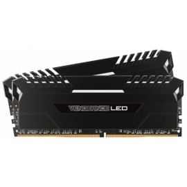 Kit Memoria RAM Corsair Vengeance LED DDR4, 3200MHz, 16GB (2 x 8GB), CL16, XMP - Envío Gratuito