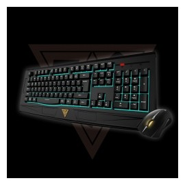 Kit Gamer de Teclado y Mouse Gamdias Ares 7 Color Combo Incluye Ares 7 Color  Ourea FPS, Alámbrico, USB, Negro (Inglés) - Envío